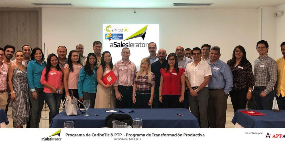 Press Release [Appalanca ha sido seleccionada por CaribeTic y El PTP del MinComercio como consultores del Proyecto aSALESlerator]